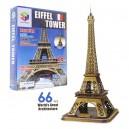 PUZZLE 3D TORRE EIFFEL 66 PIEZAS