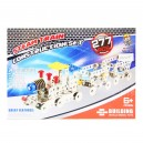 SET CONSTRUCCION METAL TREN 277PCS