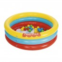 PISCINA 3 ANILLOS FISHER PRICE 91 X 25