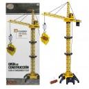GRUA CONSTRUCCION CONTROL REMOTO CON LUZ
