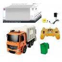 CAMION RECICLAJE MERCDEDES R/C ESCALA 1:20 2.4G CON SONIDOS Y LUZ Y CABLE USB